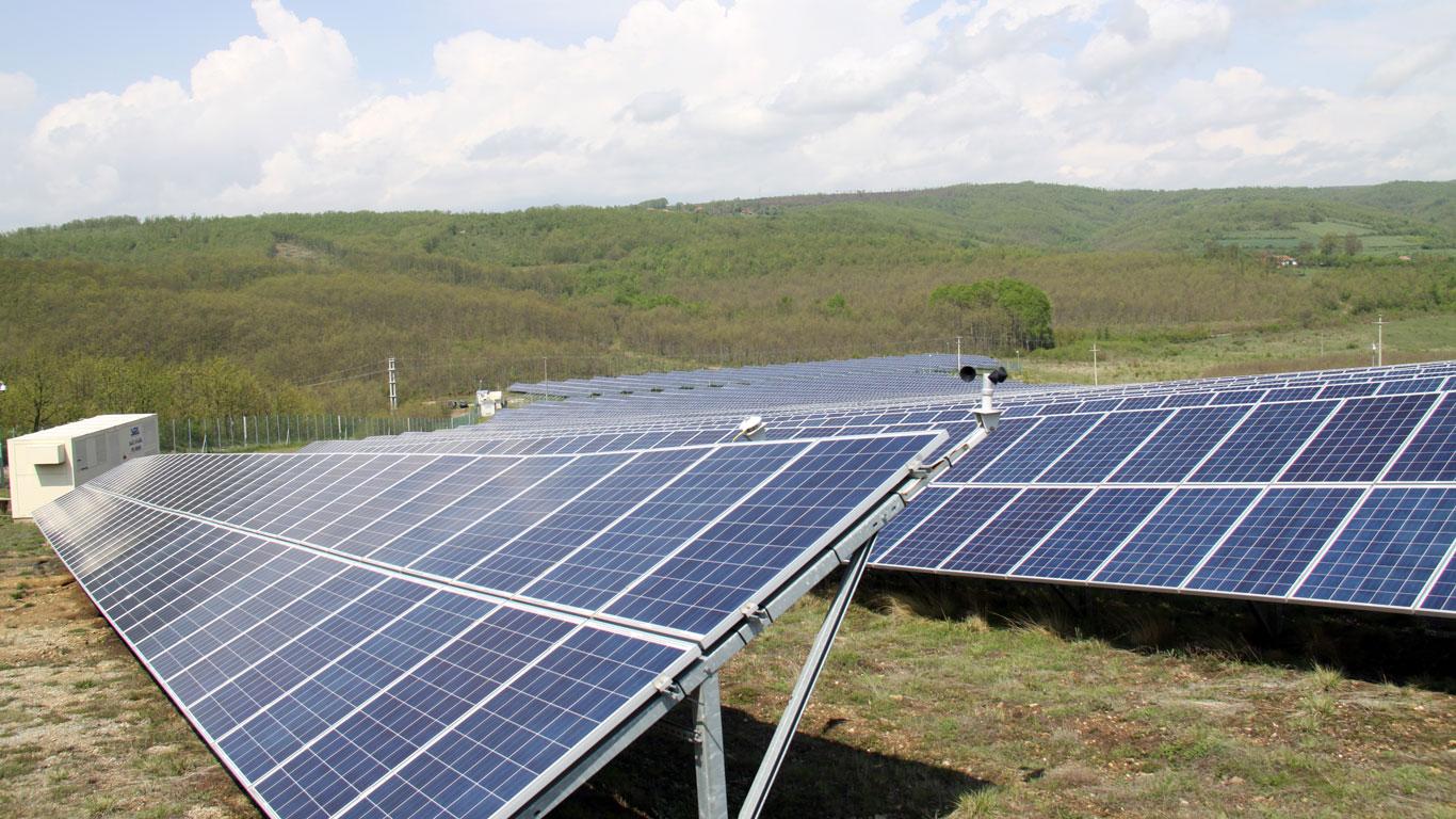 """Соларна електрана """"Матарова"""" у селу Мердаре код Куршумлије"""
