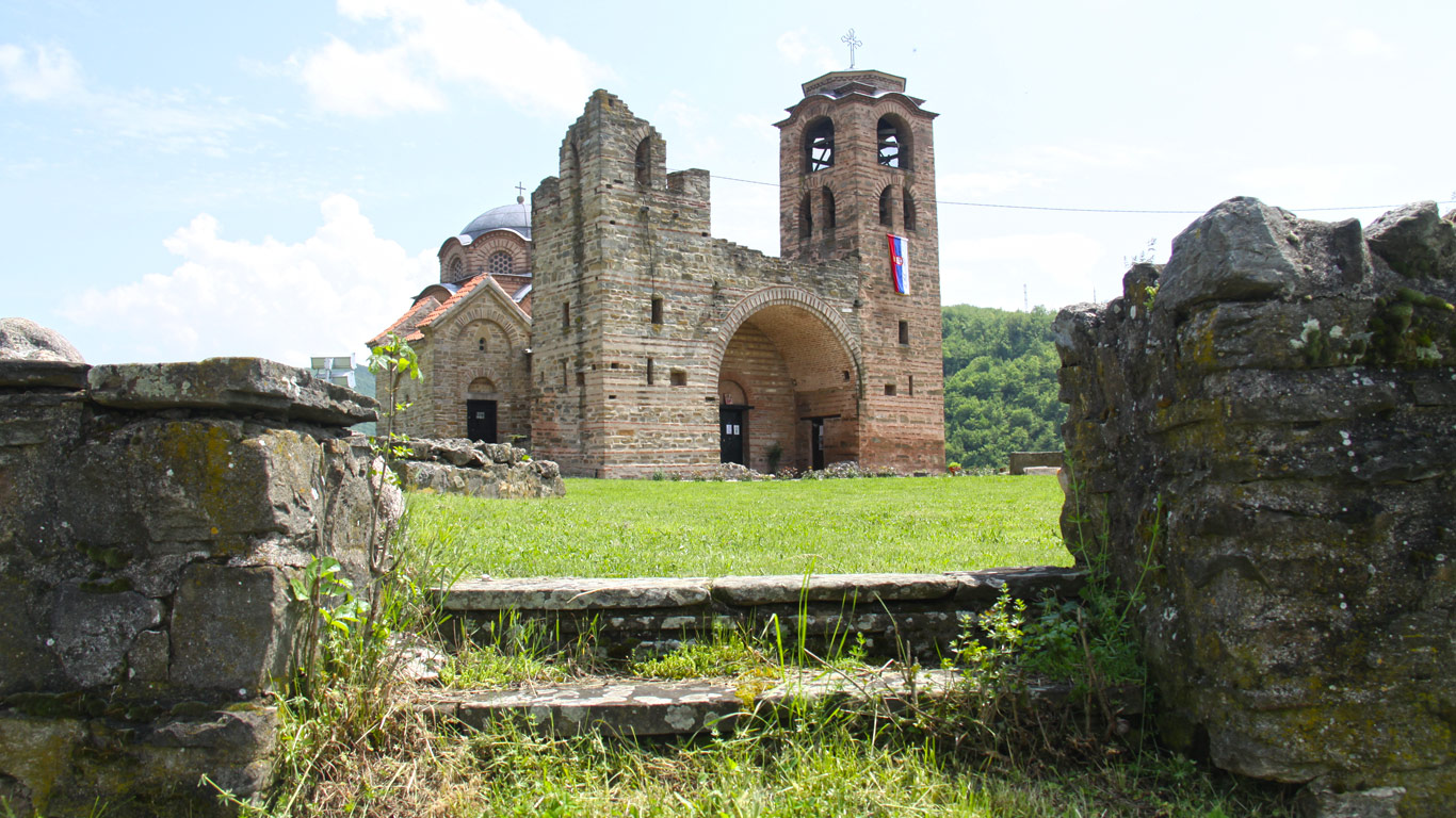 Остаци манастира Светог Николе
